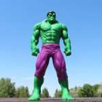 A picture of the Incredible Hulk to show that anger could be productive when utilized correctly