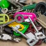 colourful keys, signifying the importance of your website security (SSL). spinmyplates.com