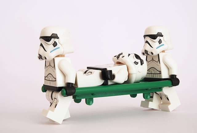 stormtrooper medic, medic update for SEO, Claire Hirst, spinmyplates.com